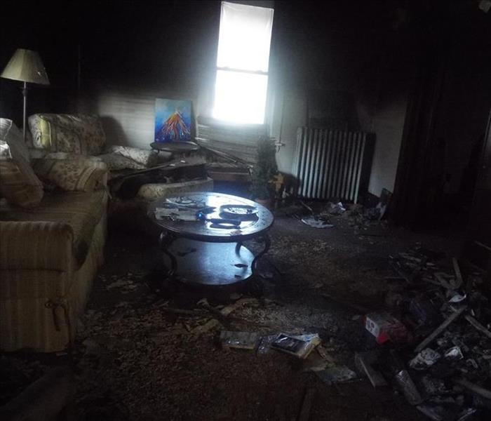 When a fire damages your Black Lick home, who should you call Before