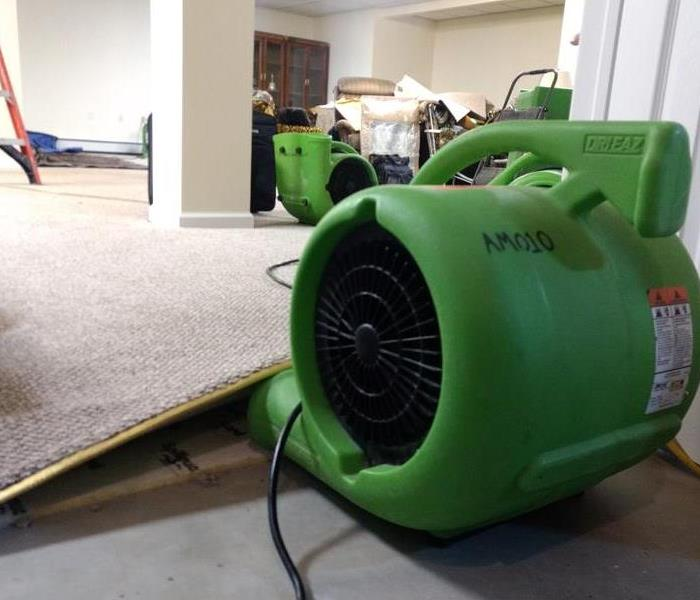 Air Movers for Drying