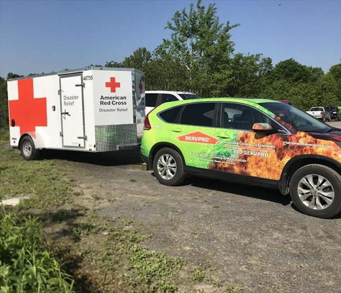The New American Red Cross Disaster Trailer